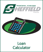 Scheffield Loan Calculator Link
