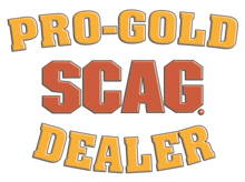 pro gold SCAG mower dealer logo